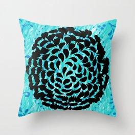 Water Nest Throw Pillow