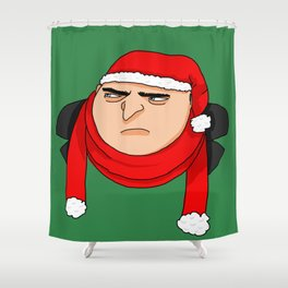 Christmas Gru Shower Curtain