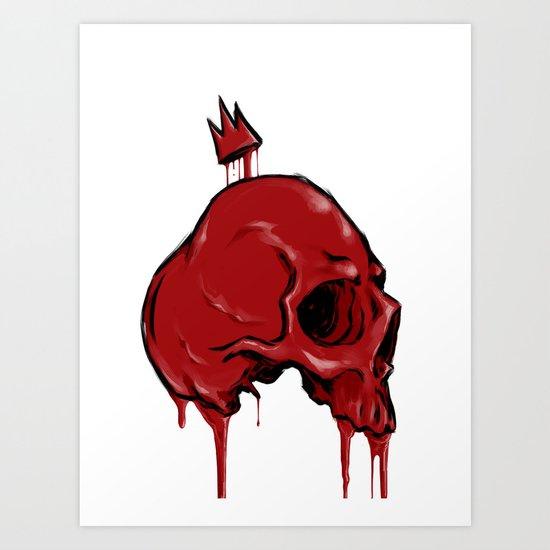 Blood Crown Art Print