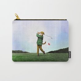 Sir Terrance Terrier Golfing Carry-All Pouch