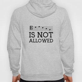 Decaf is not allowed (tenor version) Hoody