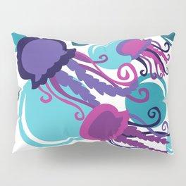 Colorful Jellyfish Pillow Sham