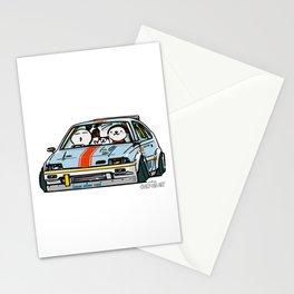 Crazy Car Art 0151 Stationery Cards