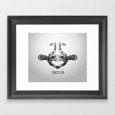 303 Framed Art Print