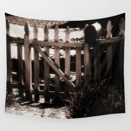 white picket fences Wall Tapestry