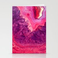 agate Stationery Cards featuring Agate by lescapricesdefilles
