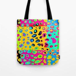 colorpop leopard Tote Bag