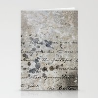 letter Stationery Cards featuring LETTER by ED design for fun