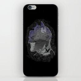 Bat Cave iPhone Skin