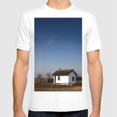 Home. MEDIUM Mens Fitted Tee White