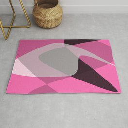 Flowing shapes 1 Rug