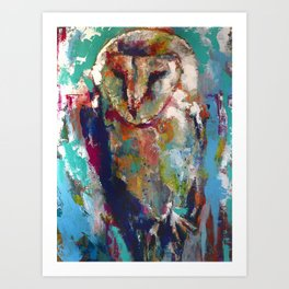 Barn Owl No. 2 Art Print