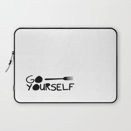 Go Fork Yourself Laptop Sleeve