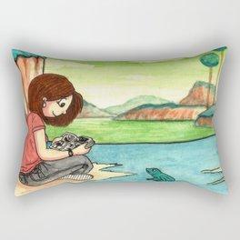 Savousepate on Namek Rectangular Pillow