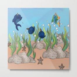little aquarium Metal Print
