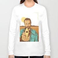 jesse pinkman Long Sleeve T-shirts featuring BREAKING BAD | JESSE PINKMAN by Daniel Mackey