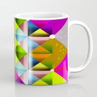 metallic Mugs featuring Metallic by dogooder