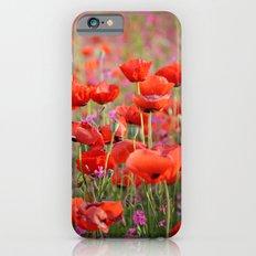 Poppies in Spring Slim Case iPhone 6s