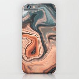 Digital Fluid Art iPhone Case