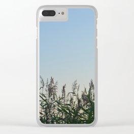 Fresh green sane Clear iPhone Case