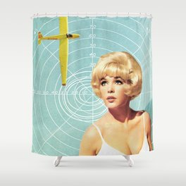 Take me with you Shower Curtain