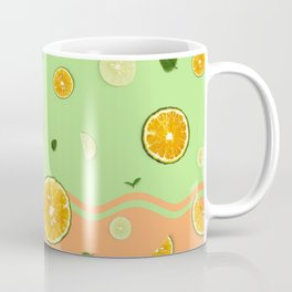 Summer Love _ Lime Orange Coffee Mug