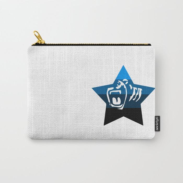 Quad Cali Blue Carry-All Pouch