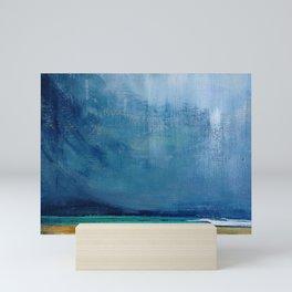 Colors of the Sea and Sky Mini Art Print