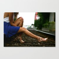 heels Canvas Prints featuring Heels. by Medium