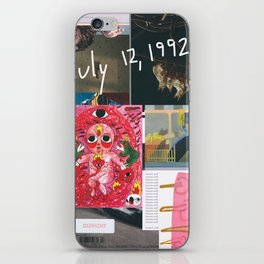 Happy Birthday to Me (July 12, 1992) iPhone Skin