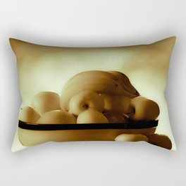 Rainy Day Activities Rectangular Pillow