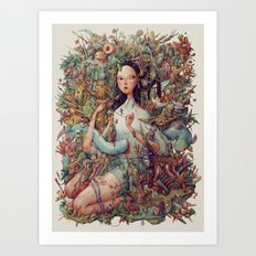 Eden. Art Print