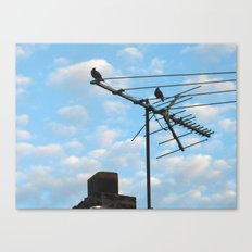 birds eye view! ~ sky and clouds Canvas Print