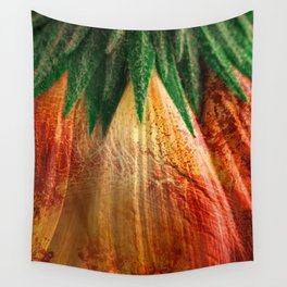 Bloody Grunge Daisy Wall Tapestry