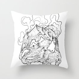 I'm falling apart Throw Pillow