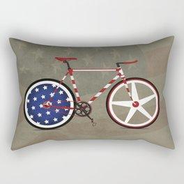 Bike America Rectangular Pillow