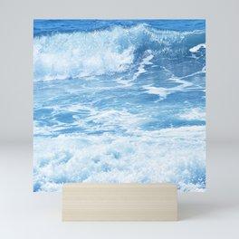 Blue Hawaiian Tropical Surf Mini Art Print