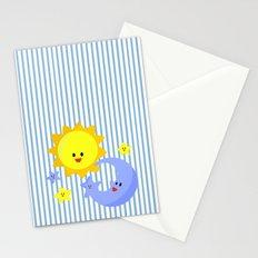 good morning, good night Stationery Cards