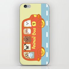 Animal bus no.9 iPhone & iPod Skin