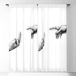God and adam? Blackout Curtain