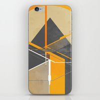 pyramid iPhone & iPod Skins featuring Pyramid by ErDavid