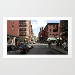 Little Italy, NYC Photo Art Print