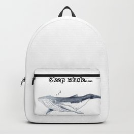 Sleep whale Backpack
