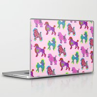 poodle Laptop & iPad Skins featuring Poodle Mania by Elizabeth Kate