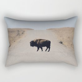 Native Crosser Rectangular Pillow