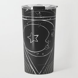 Mysterious moon Travel Mug