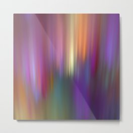 Trendy abstract with light effects Metal Print