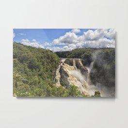 Magnificent Barron Falls in Queensland Metal Print