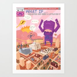 What if... Art Print