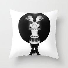 Fetish Cyamese Throw Pillow